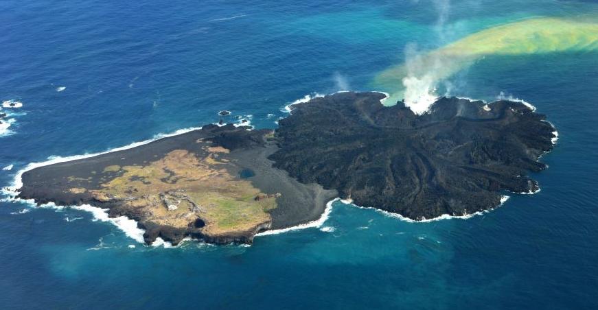 Nishinoshima, la isla que quería crecer