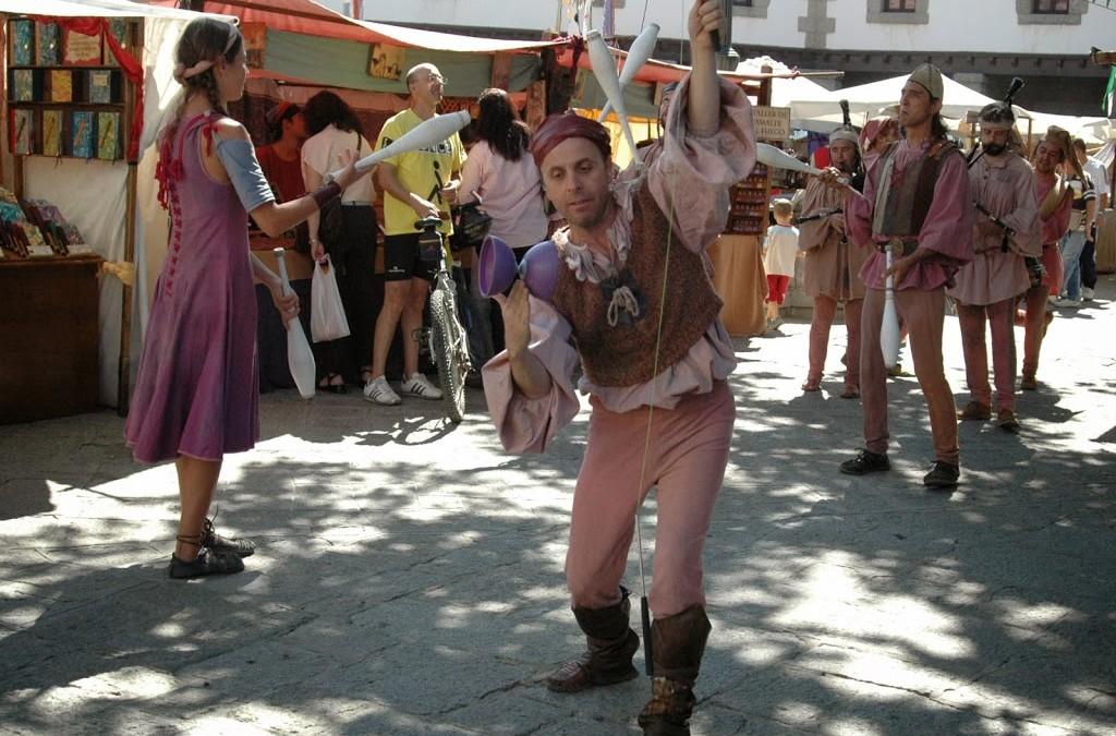 Guadarrama retrocede a la Edad Media durante un fin de semana