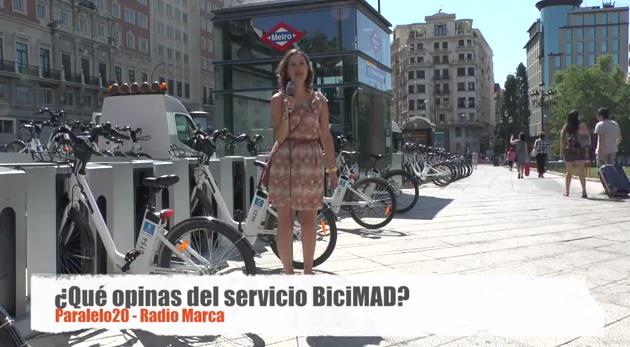 ¿Qué opinan los madrileños del servicio BiciMAD?