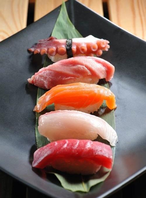 La comida japonesa está de moda.