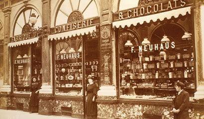 Historia de los bombones belgas