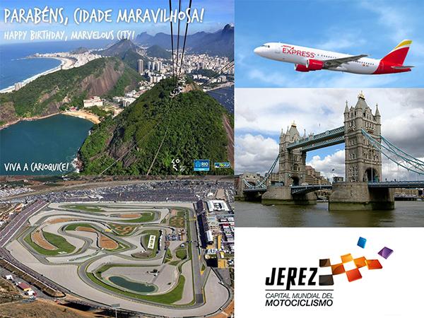 #RIO450, NUEVAS RUTAS DE IBERIA EXPRESS Y JEREZ, CAPITAL MUNDIAL DEL MOTOCICLISMO