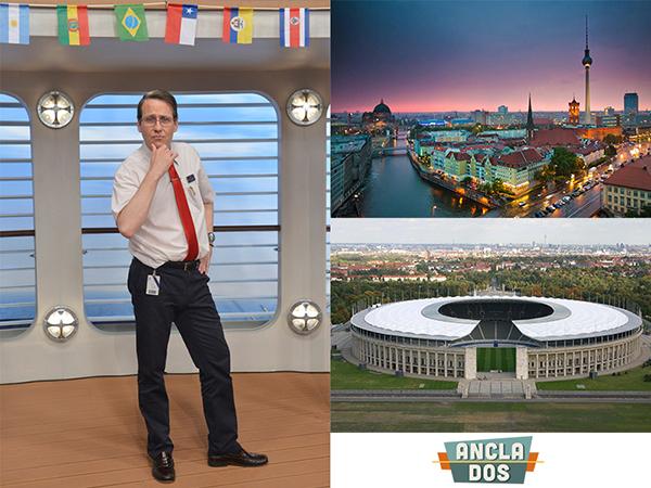 JOAQUÍN REYES EN «EL VIAJE DE TU VIDA» Y BERLÍN, ESCENARIO DE LA FINAL DE CHAMPIONS