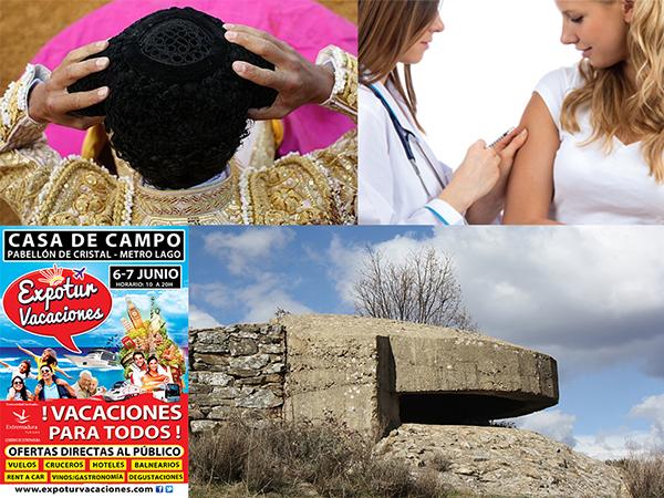 EXPRESIONES TAURINAS, TURISMO DE SALUD Y EXPOTUR VACACIONES