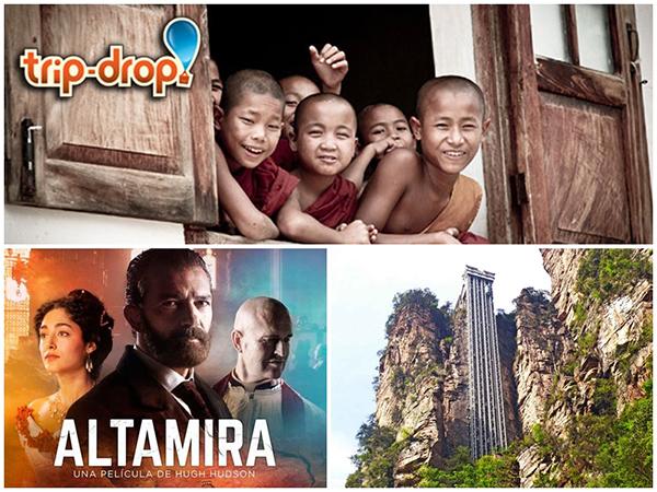 TRIP DROP: VIAJES SOLIDARIOS  TURISMO DE CINE: ALTAMIRA  ASCENSORES CURIOSOS