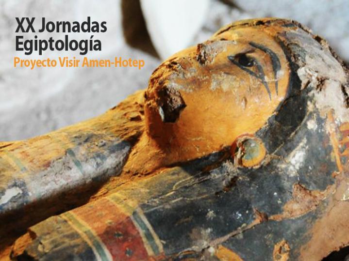 XX Jornadas de Egiptología proyecto Visir Amen-Hotep,  con la experta Teresa Bedman.