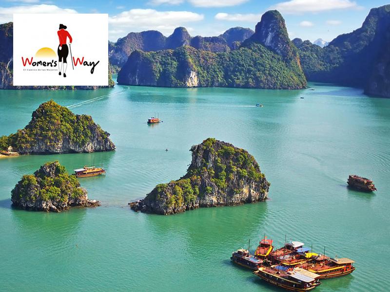 """Vietnam, un viaje en femenino Con Cristina Bernat, de""""El Camino de las mujeres"""""""