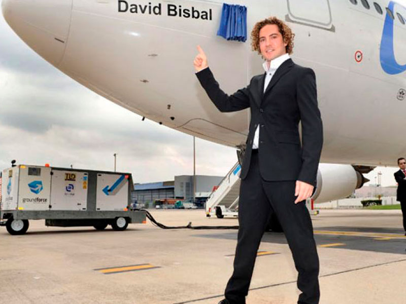David Bisbal ya cuenta con su avión en AirEuropa