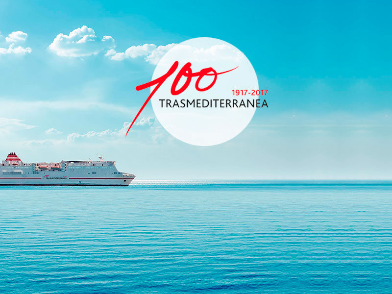 TRASMEDITERRANEA, 100 AÑOS ESCRIBIENDO LA HISTORIA DE ESPAÑA