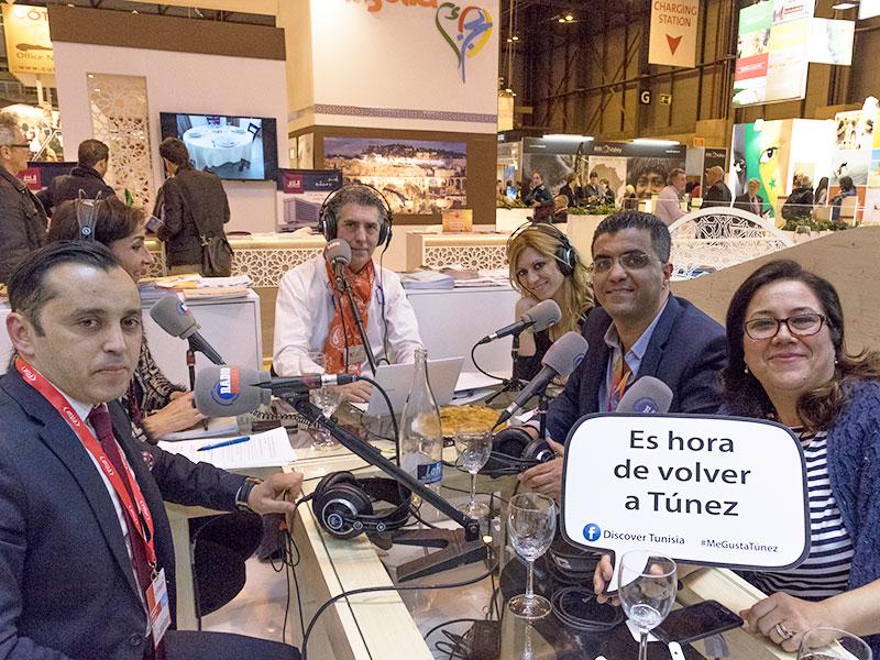 #MEGUSTATÚNEZ – PROGRAMA ESPECIAL DESDE FITUR 2017