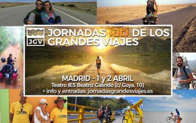 LAS JORNADAS DE LOS GRANDES VIAJES, EN MADRID