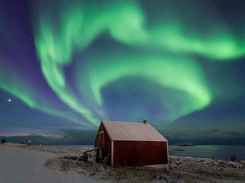 Noruega y sus auroras boreales