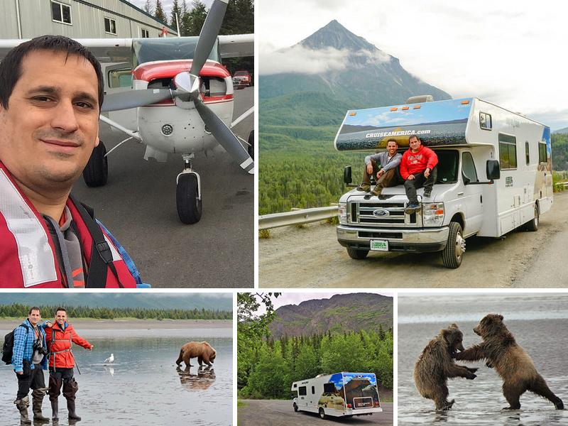 Alaska y sus osos salvajes