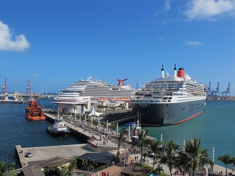 Las Palmas, puerto clave para cruceros