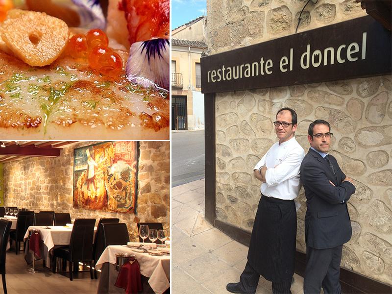 Guadalajara ya tiene una estrella Michelin con El Doncel de Sigüenza
