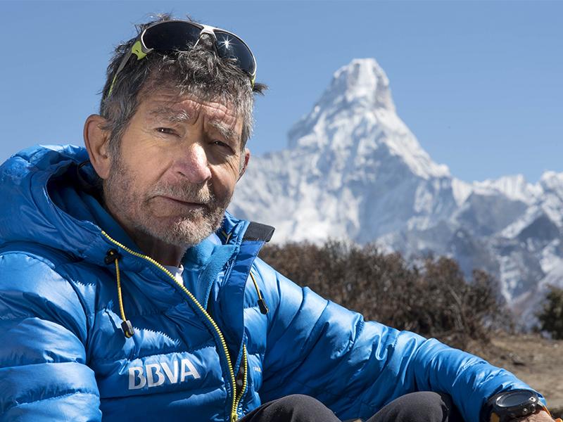 Carlos Soria, rumbo a la cumbre del Dhaulagiri