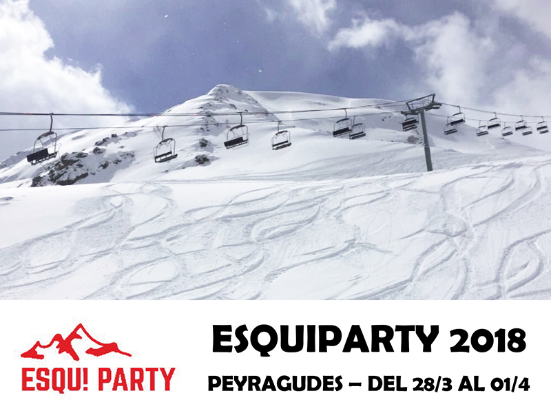 La Esqui Party de Tour Diez en Peyragudes