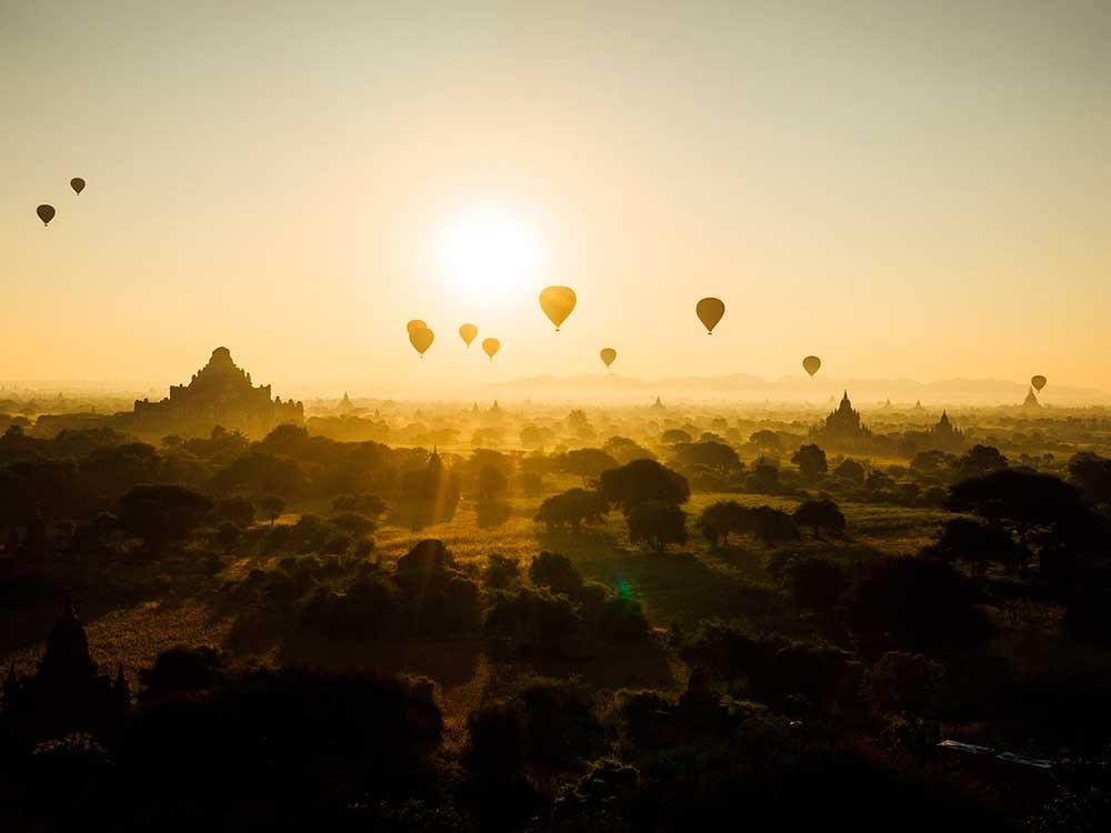 Viajar en globo aerostático