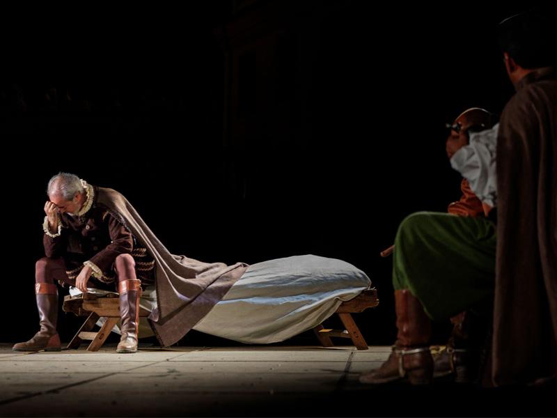 El Alcalde de Zalamea, teatro en Badajoz