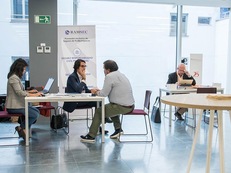 Espacios de trabajo flexibles con ProWorkSpaces