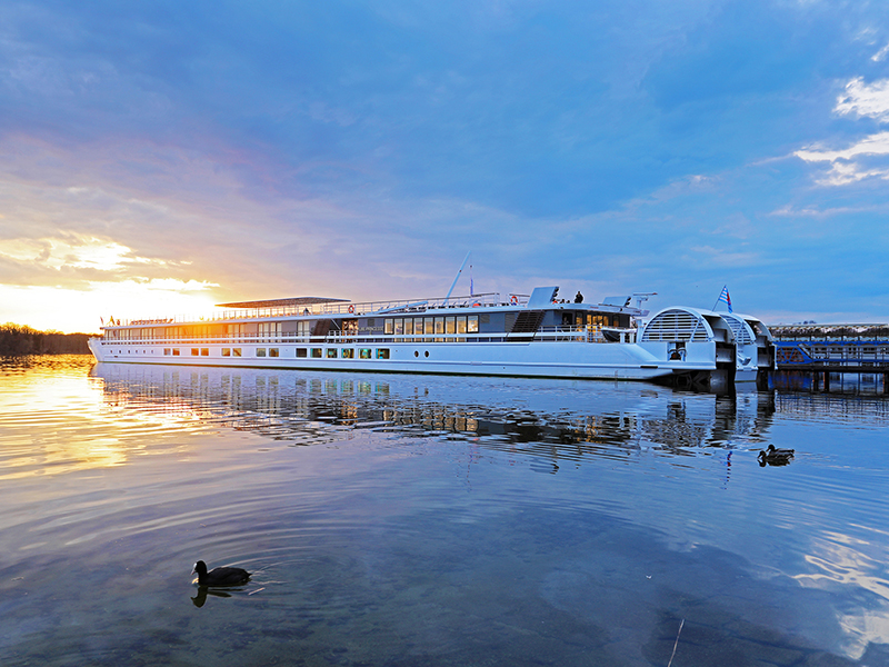 El encanto de un crucero fluvial