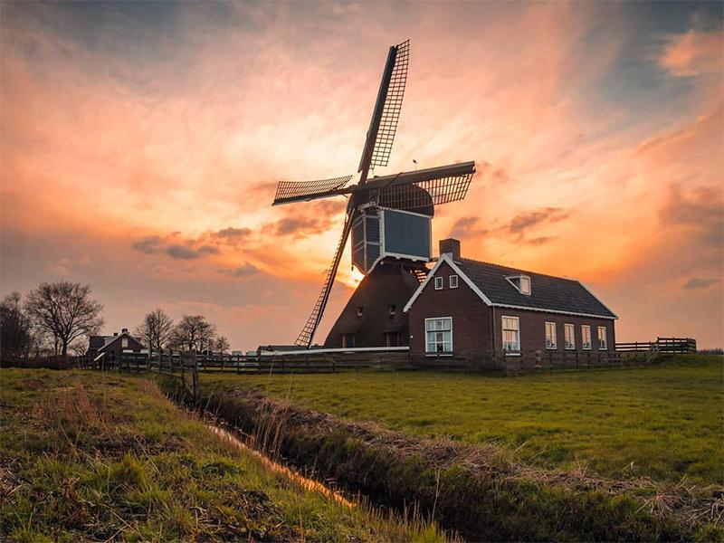 La Ruta Tierra del Agua por Holanda