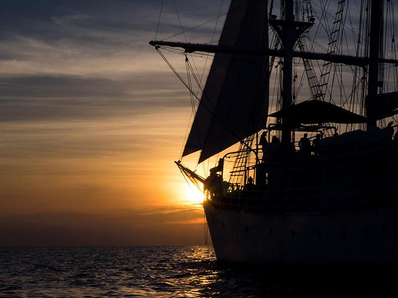 Goleta Cervantes, el buque de los valores humanos