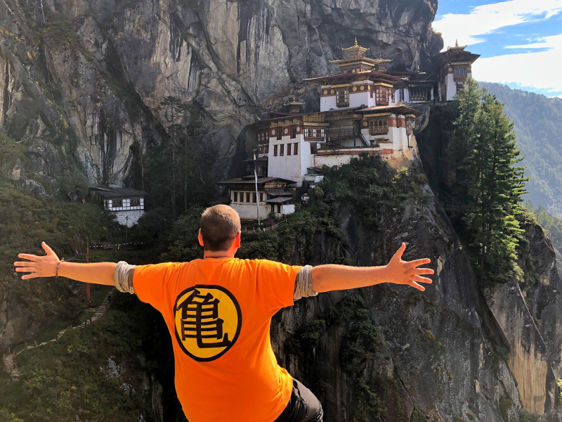 Rumbo a Bután