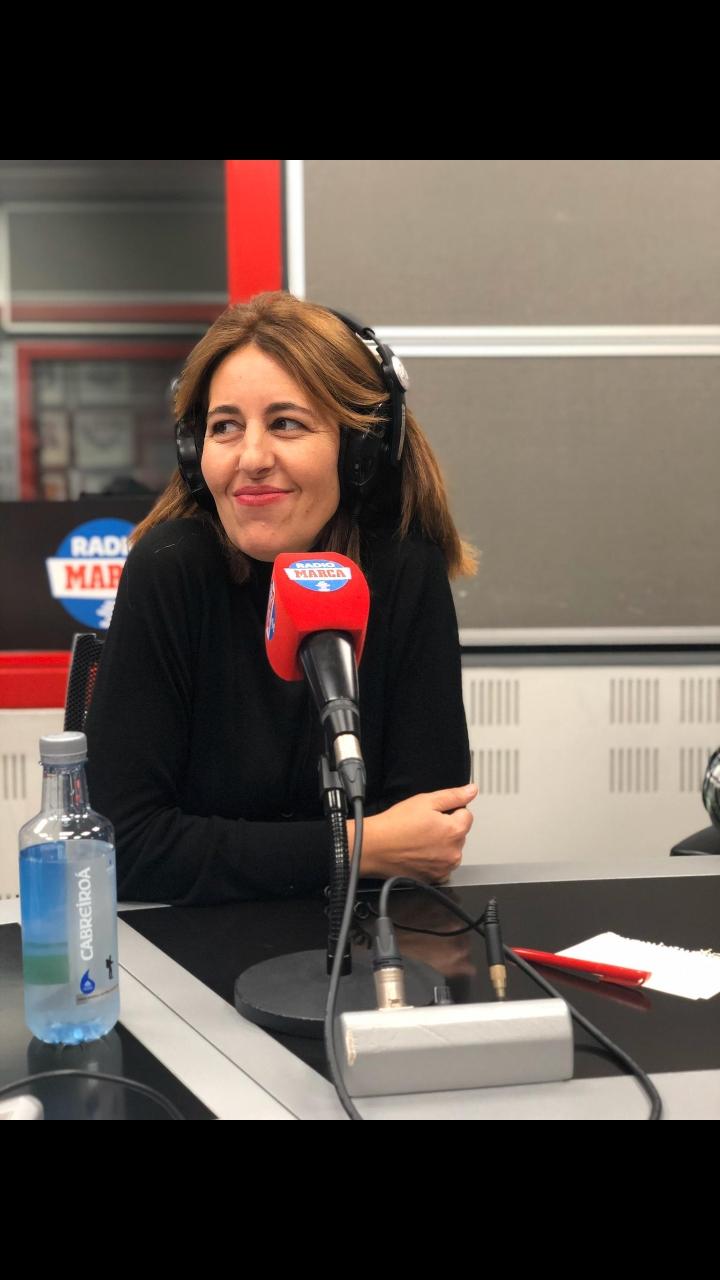Ana Martín Salter, en los estudios de Radio Marca