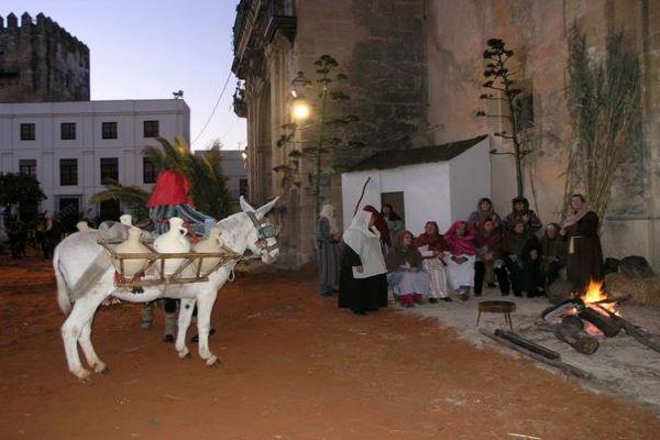 Arcos de la Frontera celebra un Belén viviente