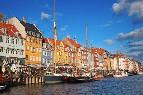Barcos en Copenhague