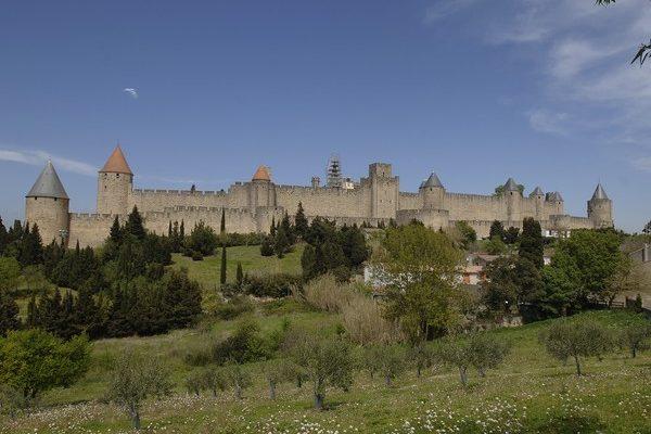 Castillo de Carcassone, Francia