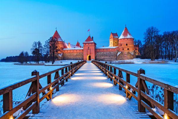 Castillo de Trakai, Litunia.