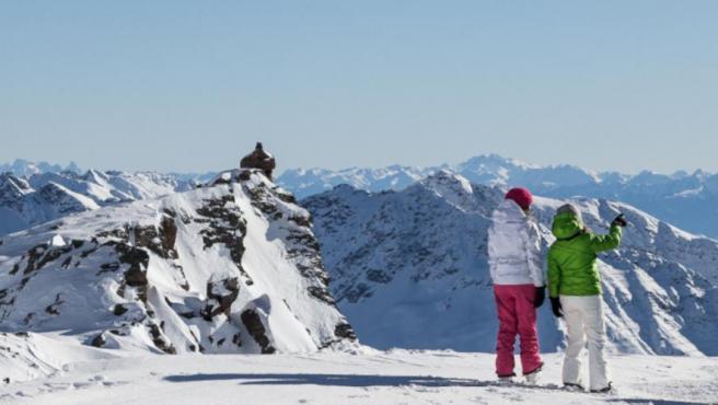 Estación de esquí de Val di Pejo, Italia.
