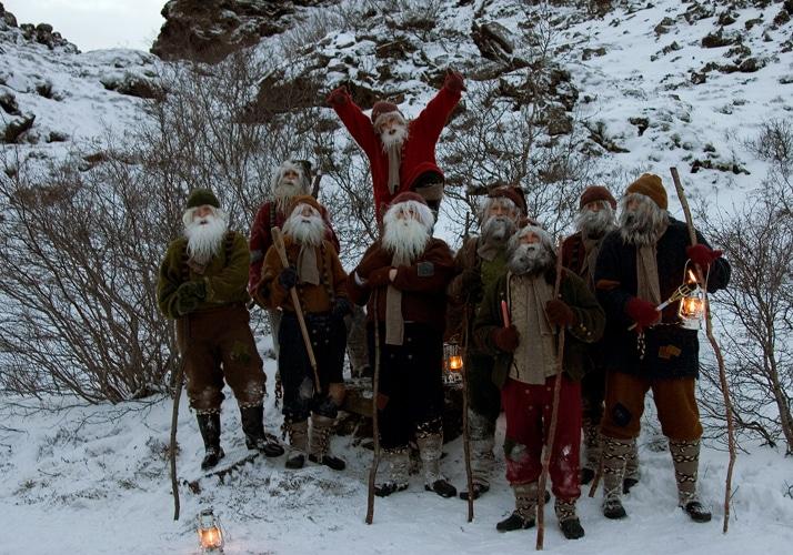 Los Muchachos Yule alegran las Navidades en Islandia