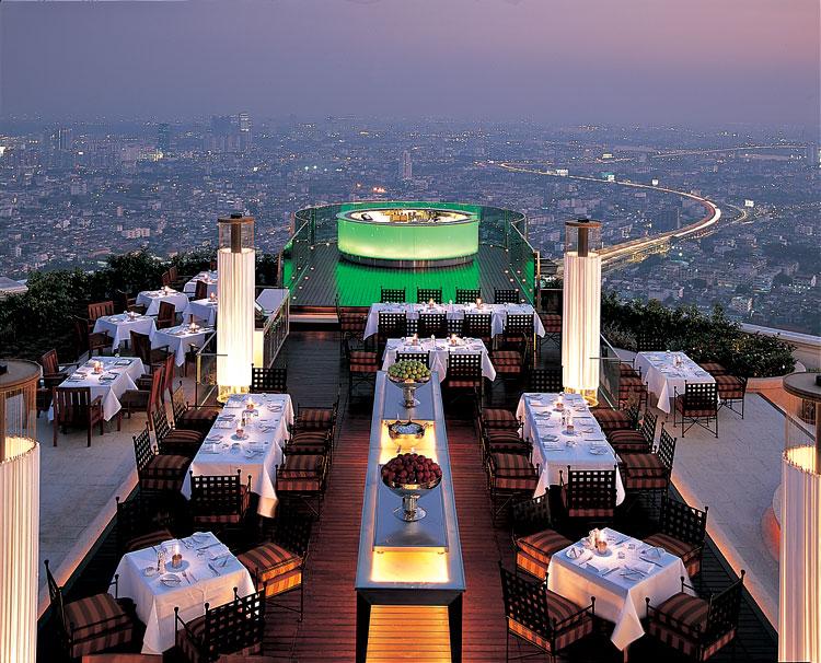 Restaurante Vértigo, Bangkok