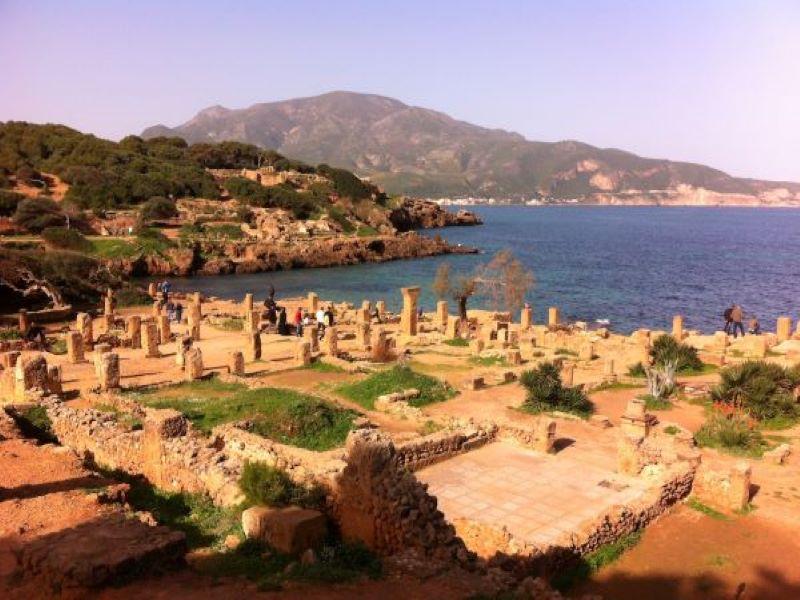 Tipasa, la villa romana de Argelia