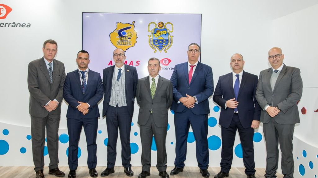 Armas Trasmediterránea es patrocinador del Club de Baloncesto Tenerife