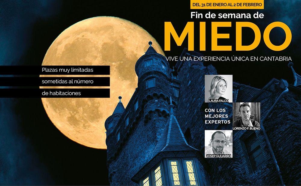 Cartel de la experiencia Fin de semana de miedo en Cantabria