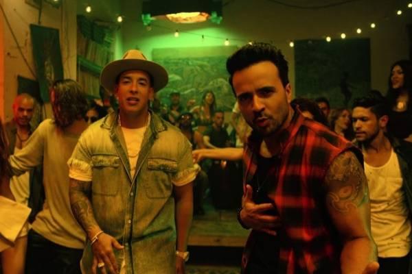 Daddy Yankee y Luis Fonsi, en el videoclip de Despacito