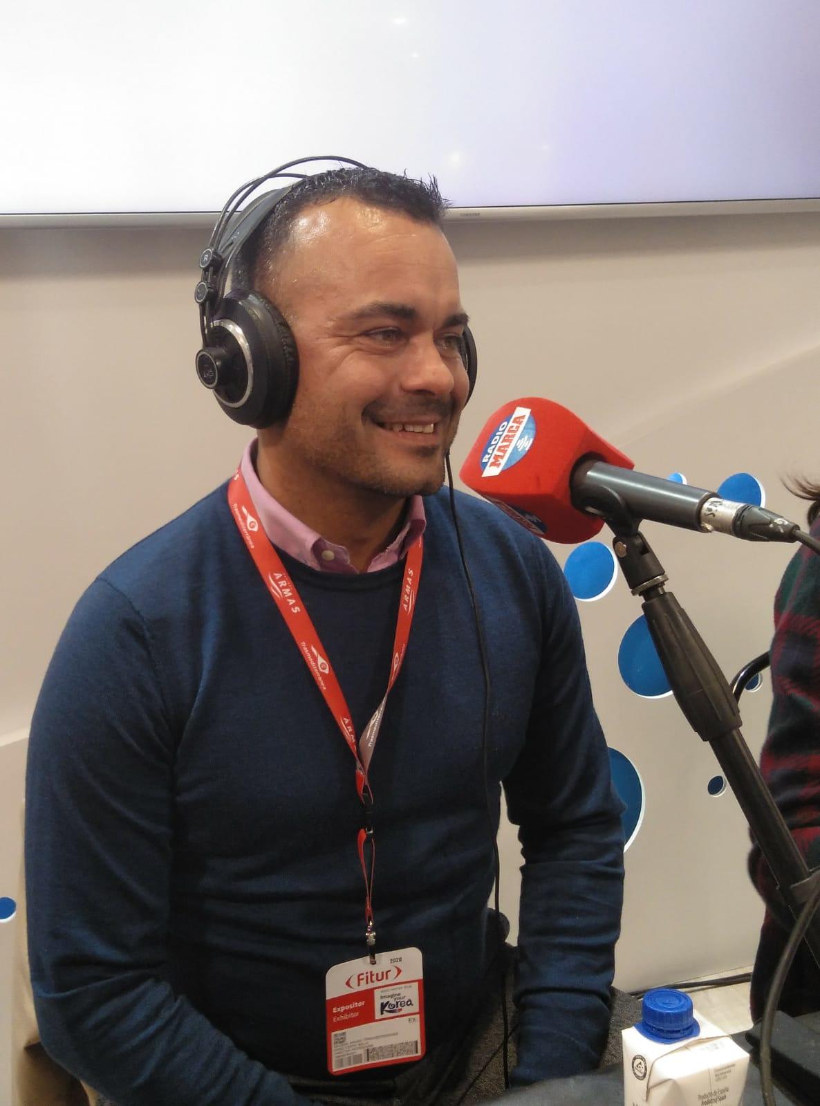 Darío Dorta, director de Patrocinio de Armas Trasmediterránea