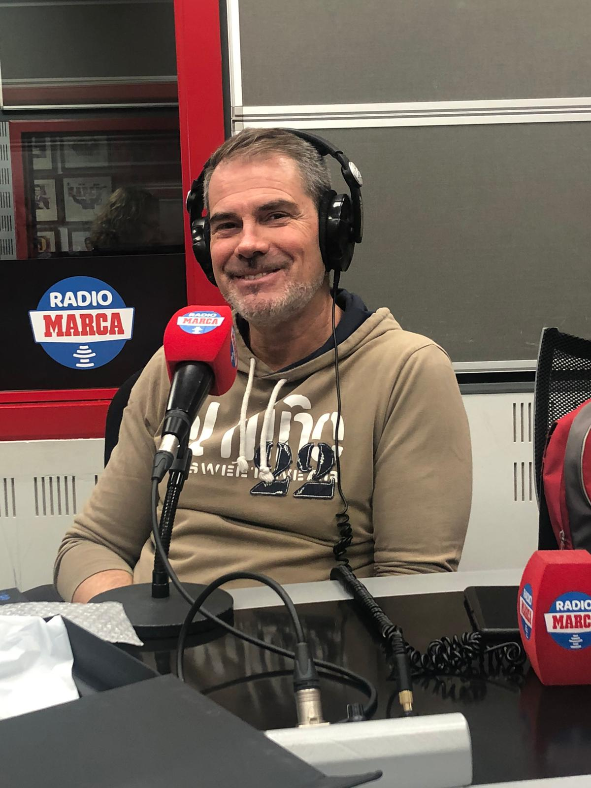 Diego Pons, en el estudio de Radio Marca