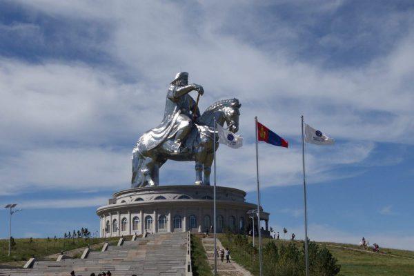 Estatua de Gengis Kan, Ulán Bator (Mongolia)
