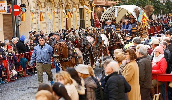 Fiestas de San Antonio Abad en Valencia