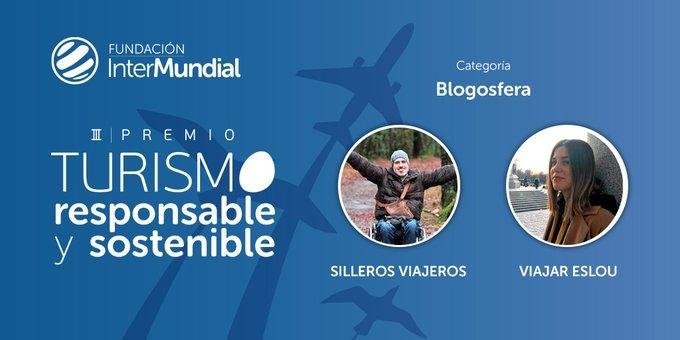 Finalistas III Premio de Turismo Responsable y Sostenible, categoría 'Blogosfera'