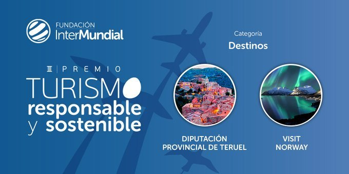 Finalistas III Premio de Turismo Responsable y Sostenible, categoría 'Destinos'