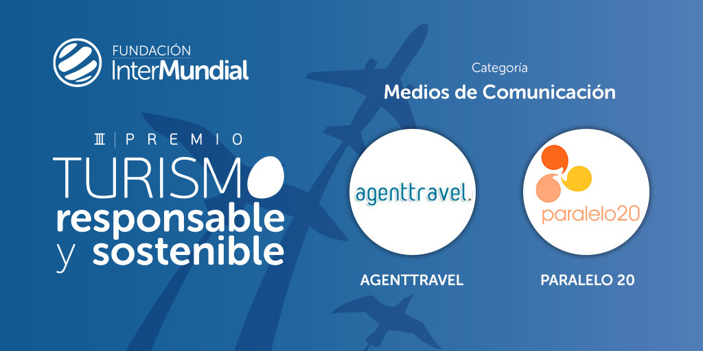 Finalistas III Premio de Turismo Responsable y Sostenible, categoría 'Medios de comunicación'