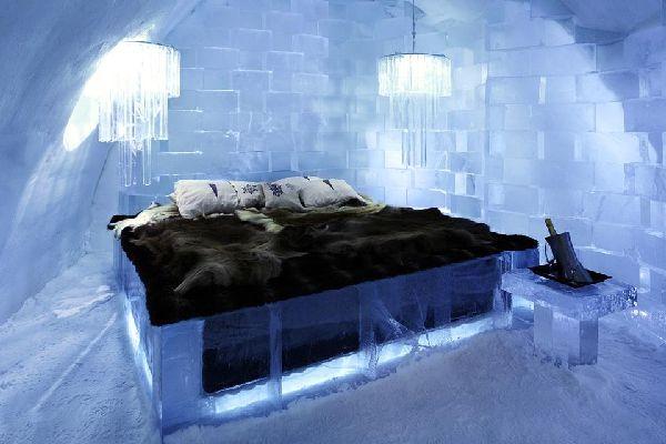 Icehotel, en Jukkasjarvi, Suecia