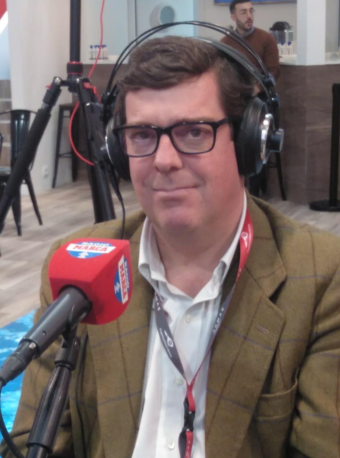 Ignacio Maldonado, director de Pasaje de Armas Trasmediterránea
