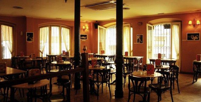 Interior de Café Madrid